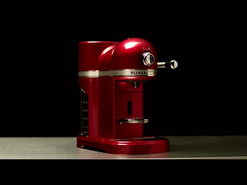 First use: How to use your Nespresso by KitchenAid coffee machine for the first time