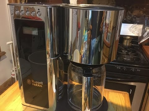 Russell Hobbs Glass Series 8-Cup Coffeemaker Review - Best Budget Coffee Maker