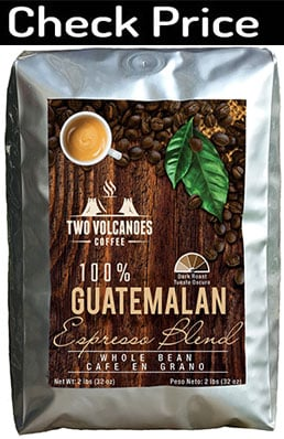 Two Volcanoes Guatemala Dark Roast