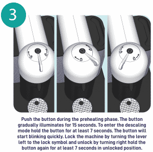 Step 3 - Push the button