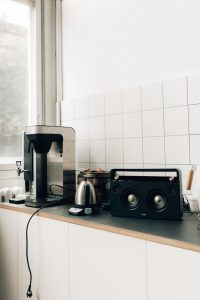 coffee maker on a table